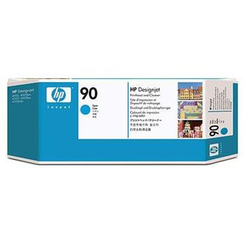 HP C5055A No. 90 Cyan Printhead and Cleaner pro DSJ 4000